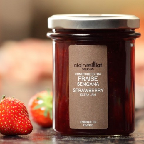 ALAIN MILLAT SENGANA STRAWBERRY JAM
