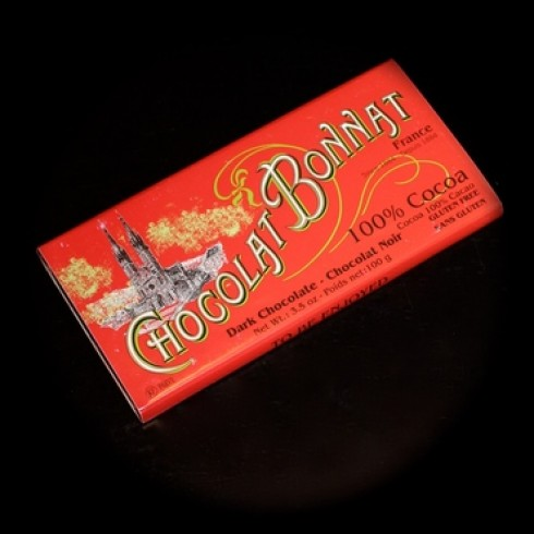 BONNAT DARK 100% COCOA BAR