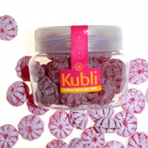 KUBLI RAPSBERRY CANDY IN A PET JAR