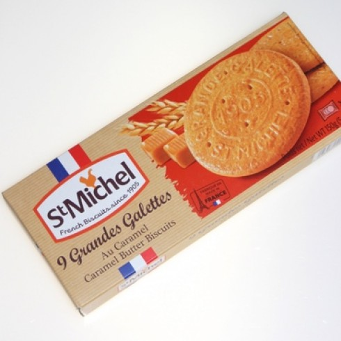 ST MICHEL GALETTE BUTTER CARAMEL BISCUIT