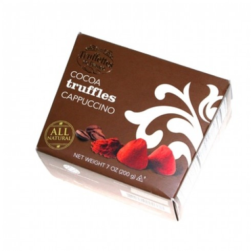 CHOCOLATE & CAPPUCINO TRUFFFLES