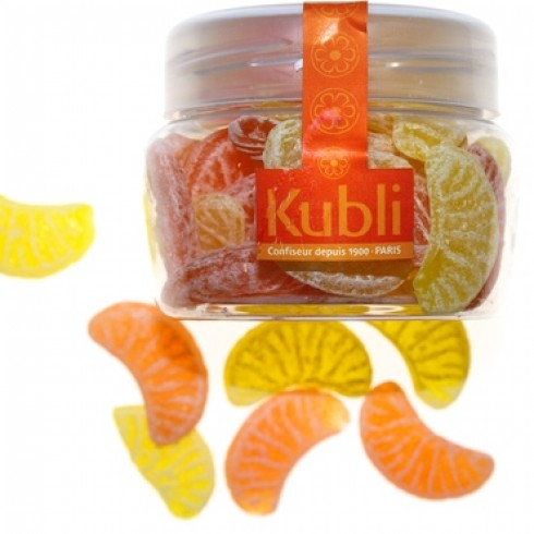 KUBLI ORANGE & LEMON SLICES IN A PET JAR