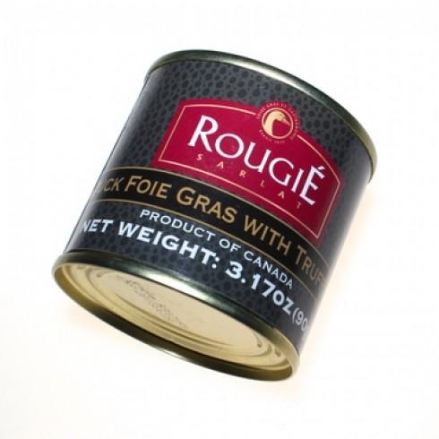 ROUGIE FOIE GRAS WITH TRUFFLES